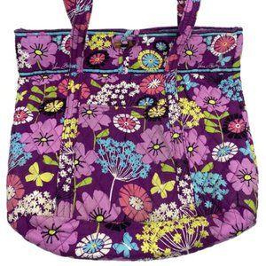 Vera Bradley Multicolor Fabric Large Tote Bag
